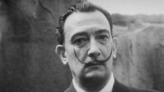 Salvador Dalí, en una imagen del spot de P&G