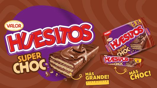 Huesitos es de Chocolates Valor