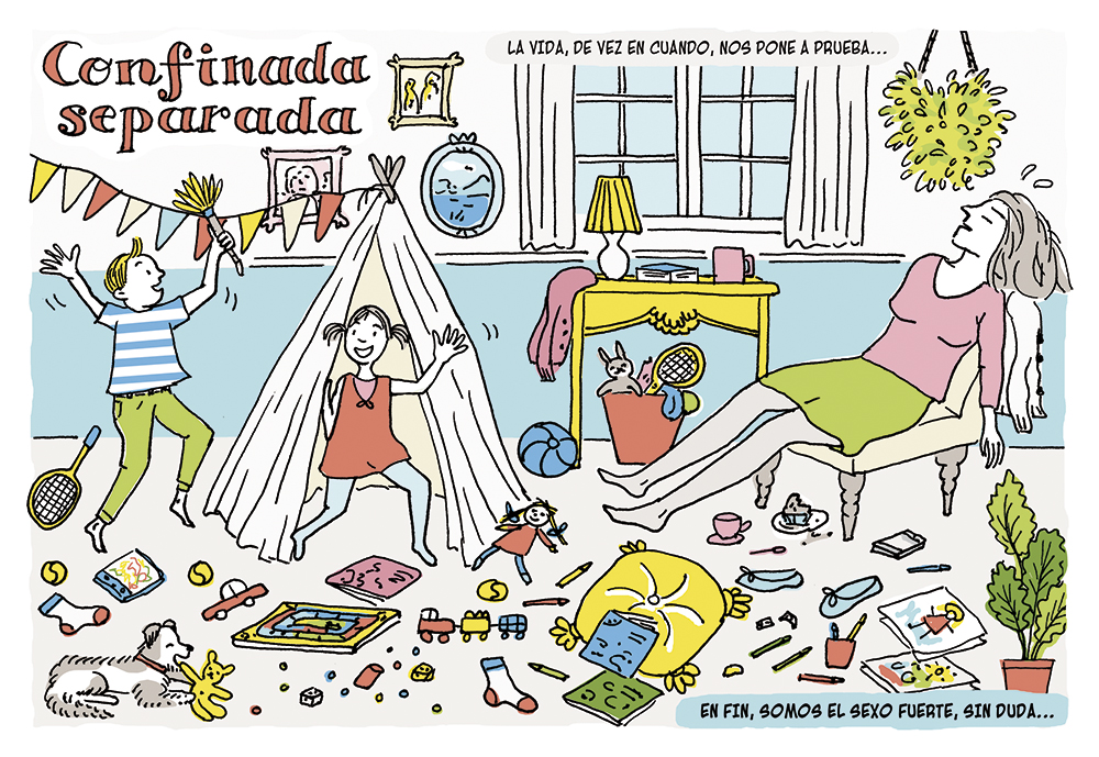 extos de Ángeles González-Sinde / Ilustraciones de Laura Klamburg