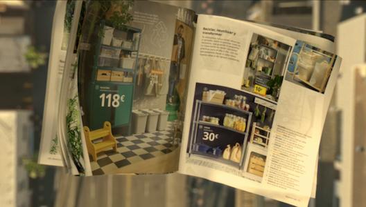 Imagen de una de las últimas campañas del catálogo de Ikea