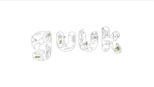 La creatividad, obra de Summer Bilbao,  usa animación