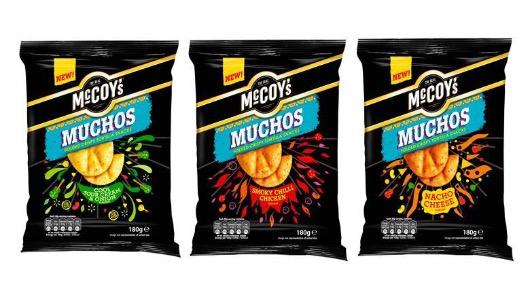 Las patatas McCoys Muchos