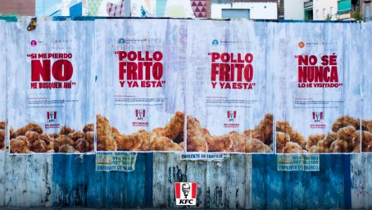 Carteles de KFC