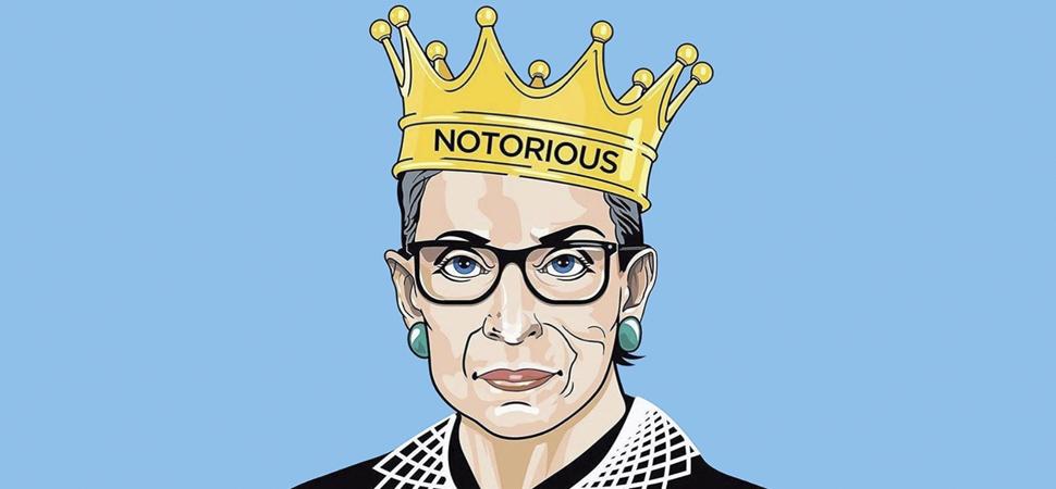Diez frases y diez ilustraciones para recordar a Ruth Bader Ginsburg