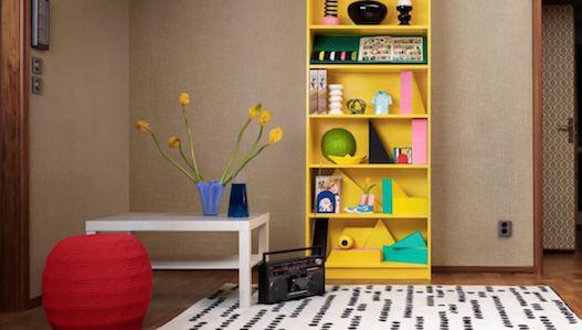 La famosa estantería Billy de Ikea