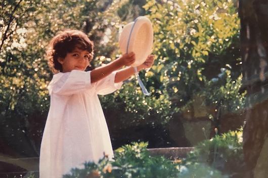 Elisenda, antes de descubrir el voleibol