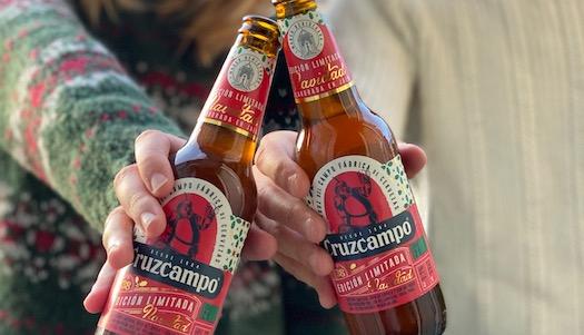 La cerveza navideña de Cruzcampo