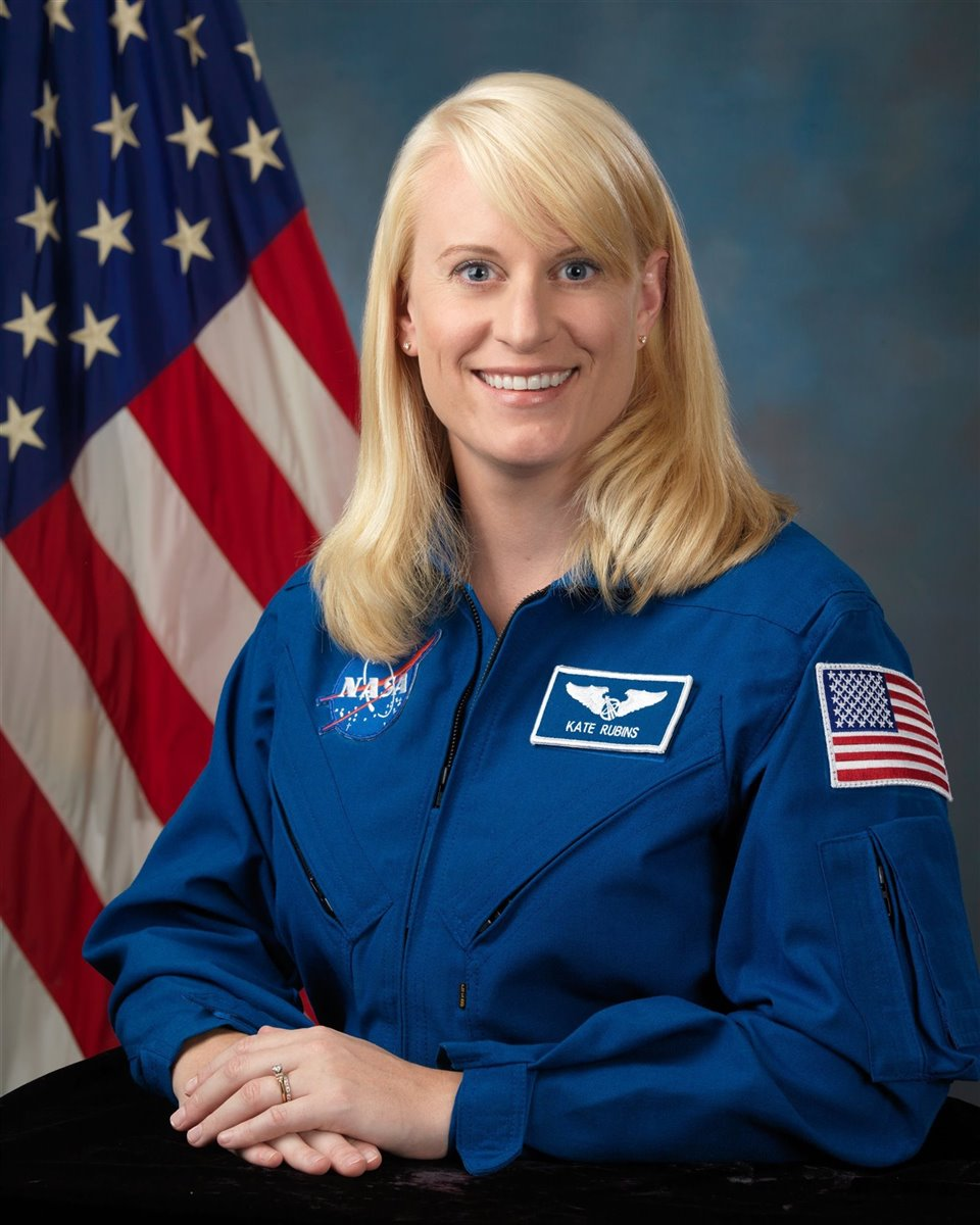 Kate Rubins. Fotos: Bill Ingals/Nasa.