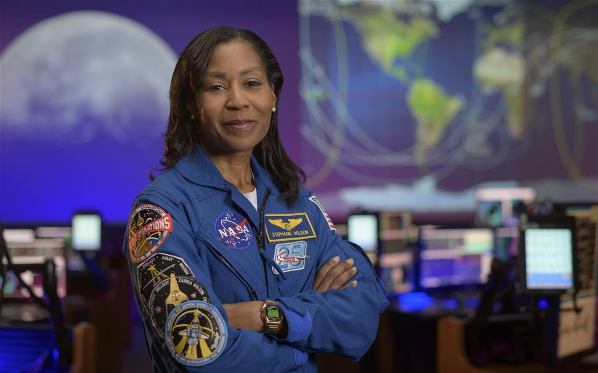Stephanie Wilson.