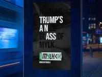 Esta campaña incluye mensajes ocultos en contra de Trump