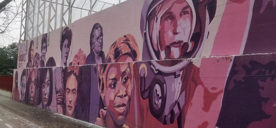 El mural feminista de Madrid finalmente se queda