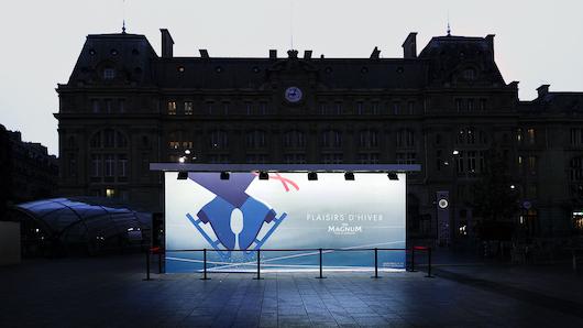 La creatividad de exterior se puede ver en París
