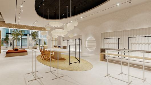 Imagen de la nueva tienda de Mango