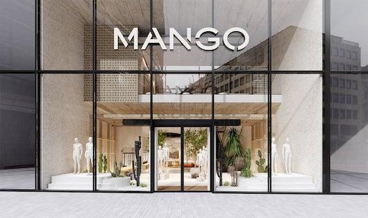 Mango estrena este competo de tienda en la ciudad alemana de Düsseldorf