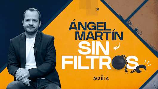 El presentador Ángel Martín