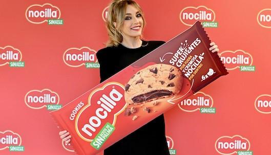 Anna Simón, embajadora de la presentación de las Nocilla Cookies
