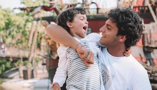 Tomás Páramo y su hijo
