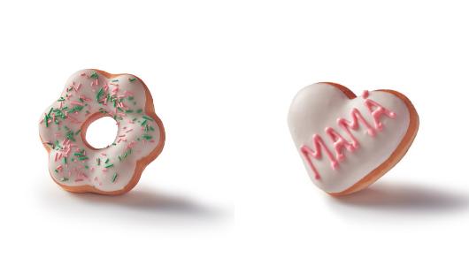 Dos de las creaciones para el Día de la Madre