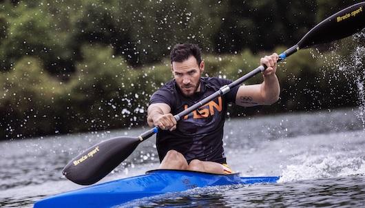 """El español Saul Craviotto es uno de los beneficiarios del Athletes for Good Fund, iniciativa con la que ha podido destinar 10.000 dólares a World Central Kitchen (WCK)"""","""