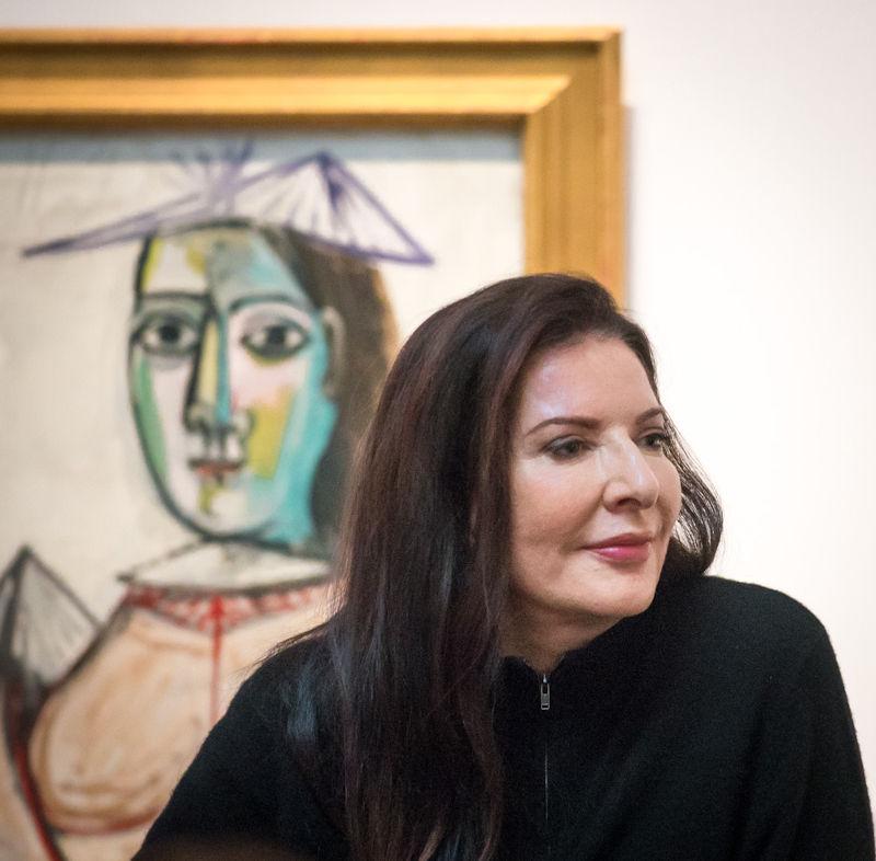 Marina Abramovic, retratada en 2017 en Estocolmo. Foto: Frankie Fouganthin.