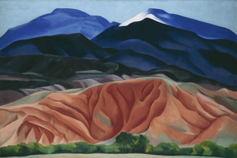 'Paisaje de Black Mesa, Nuevo México'. Georgia O'Keeffe.