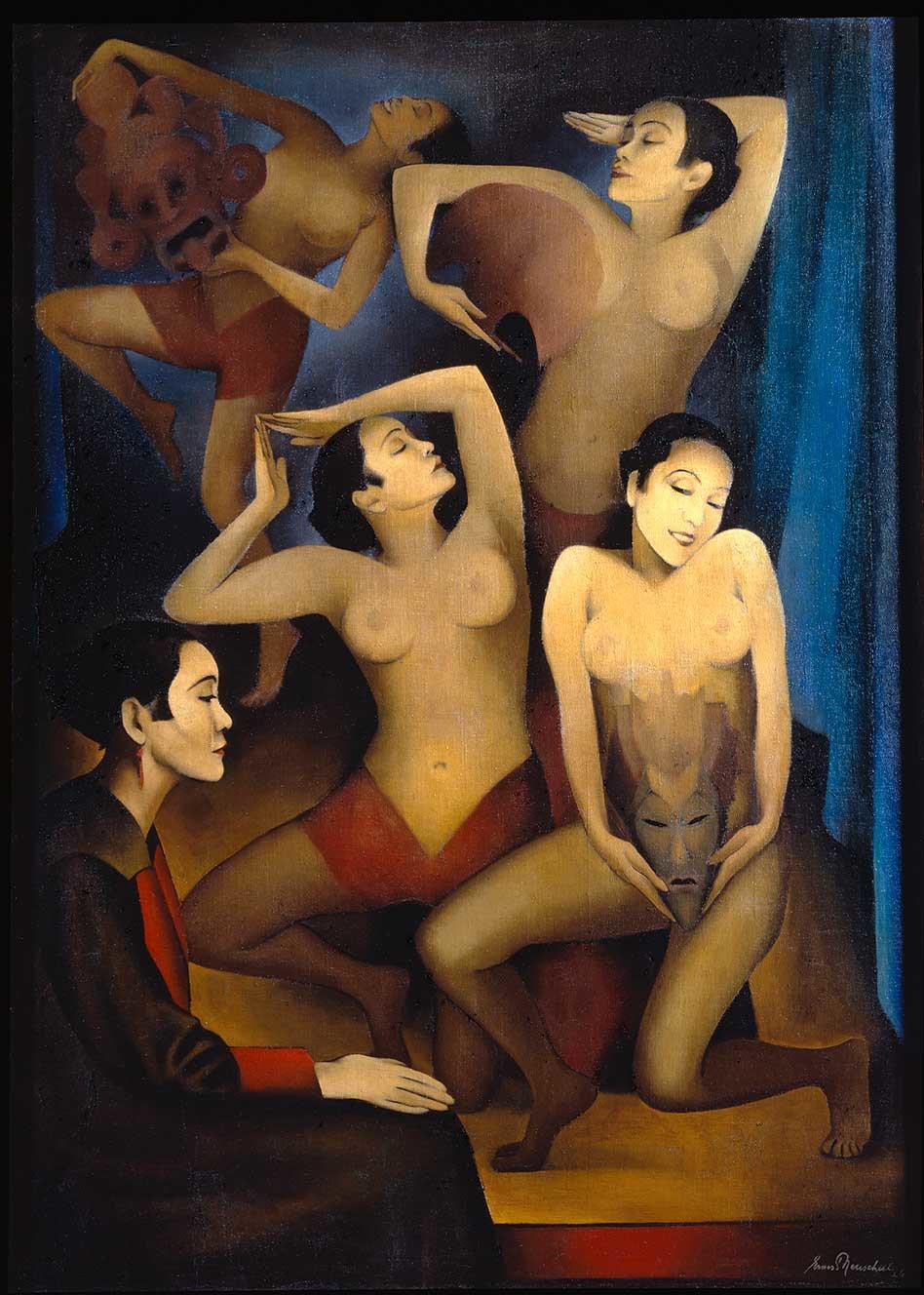 Takka-Takka baila. Ernest Neuschul. Museo Guggenheim Bilbao.