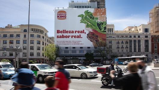 La lona está en Madrid