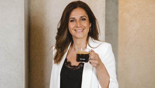 Claudia Ayats, directora de marketing de Nespresso