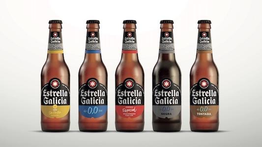 Las nuevas botellas de Estrella Galicia