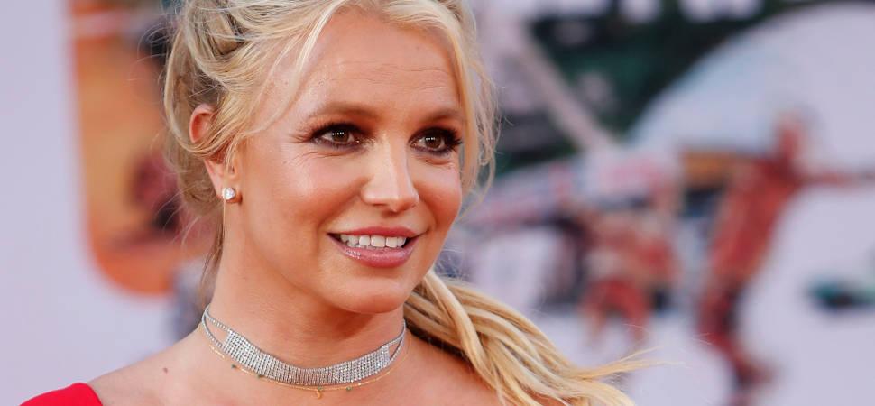 Britney Spears, acudiendo a un estreno en julio de 2019. Foto Kathy Hutchins/Shutterstock.