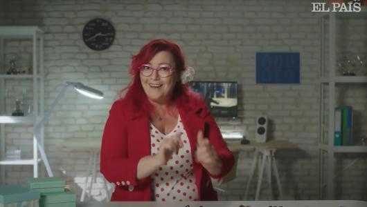 Clara Grima, una de las 'edutubers' para #SomosFuturo