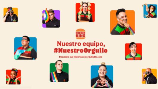 Burger King cuenta con las historias de sus empleados para visibilizar la diversidad