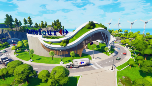 Carrefour lanza un nuevo mapa en Fortnite.
