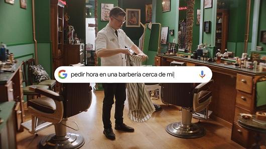 Imagen de la campaña realizada por Contrapunto BBDO y Proximity para Google