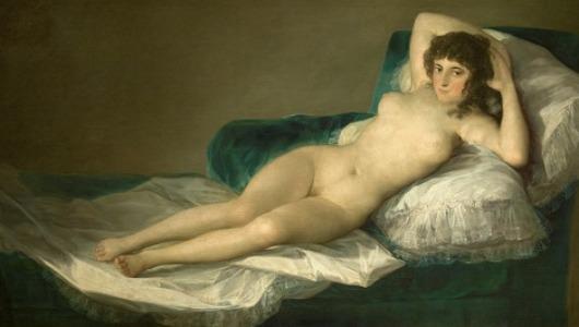 """""""La maja desnuda"""", de Francisco de Goya"""