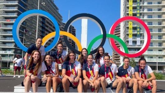 El equipo femenino de baloncesto de España