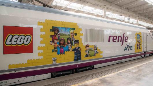 Lego y Renfe colaboran para este verano de 2021