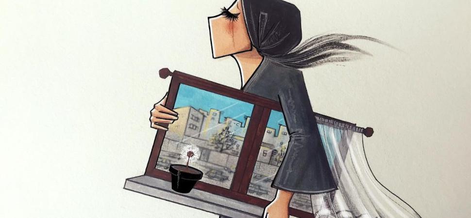 La artista que ilustra la opresión de las afganas
