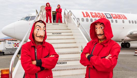 Publicis Italia y Netflix Italia se unen para la salida de 'La Casa de Papel'