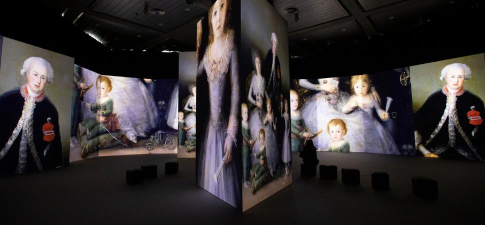 La primera exposición inmersiva de Goya llega a Madrid