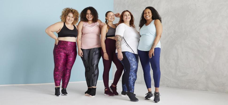 Decathlon presenta una colección para mujeres de todas las tallas