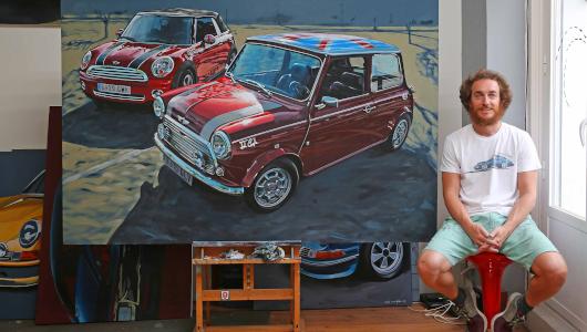 La obra de Manu Campa, uno de los protagonistas de la exposición