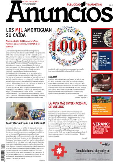 Revista Anuncios 1491 - Informe Anunciantes