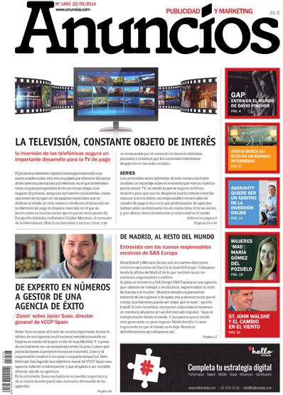 Revista Anuncios 1493 - Informe Televisión