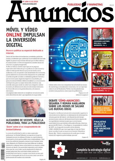Revista Anuncios 1494 - Informe Internet