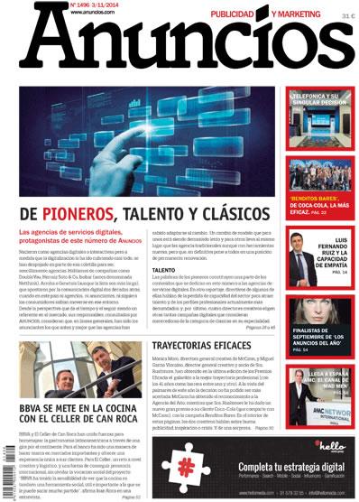 Revista Anuncios 1496 - Informe Agencias de Servicios Digitales
