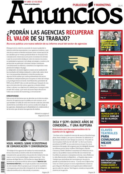 Revista Anuncios 1483 - Informe Agencias