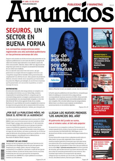 Revista Anuncios 1481 - Informe Mobile y Seguros