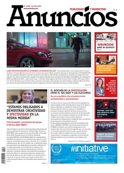 Revista Anuncios 1508 - Informe Investigación