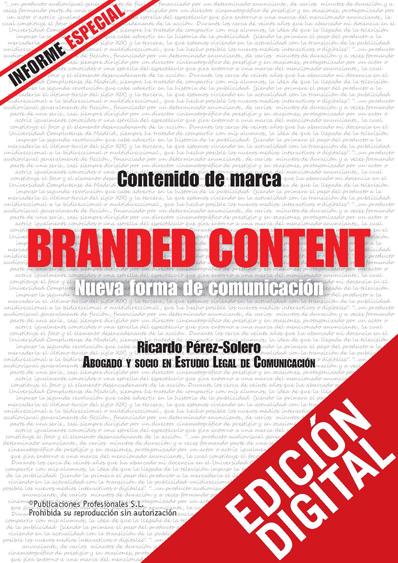 Branded Content. Nueva forma de comunicación